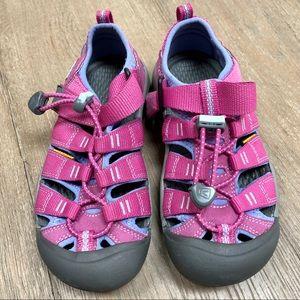 Keen Newport H2 Pink Purple Kids Sandal - Size 1